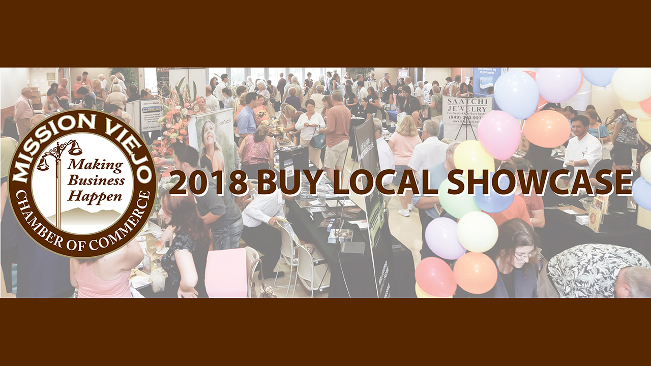 Mission Viejo Chamber of Commerce Buy Local Showcase