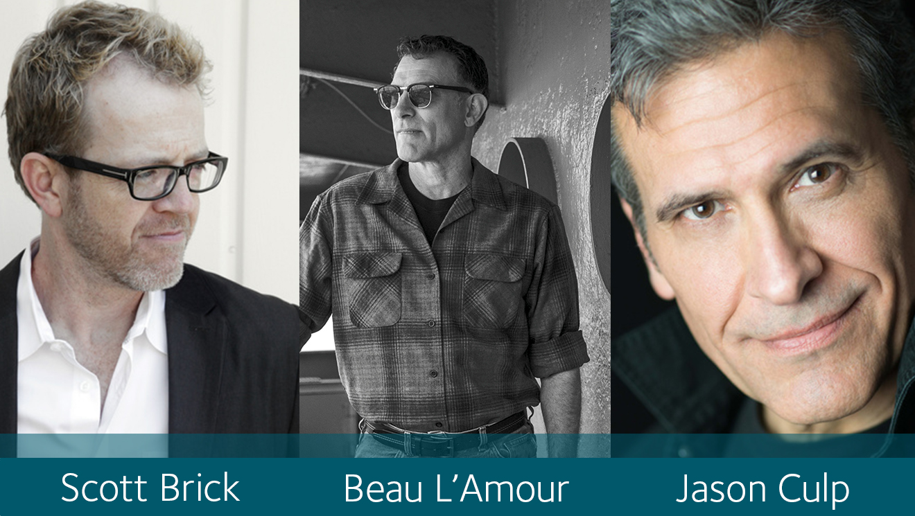 Scott Brick, Beau L'Amour, Jason Culp