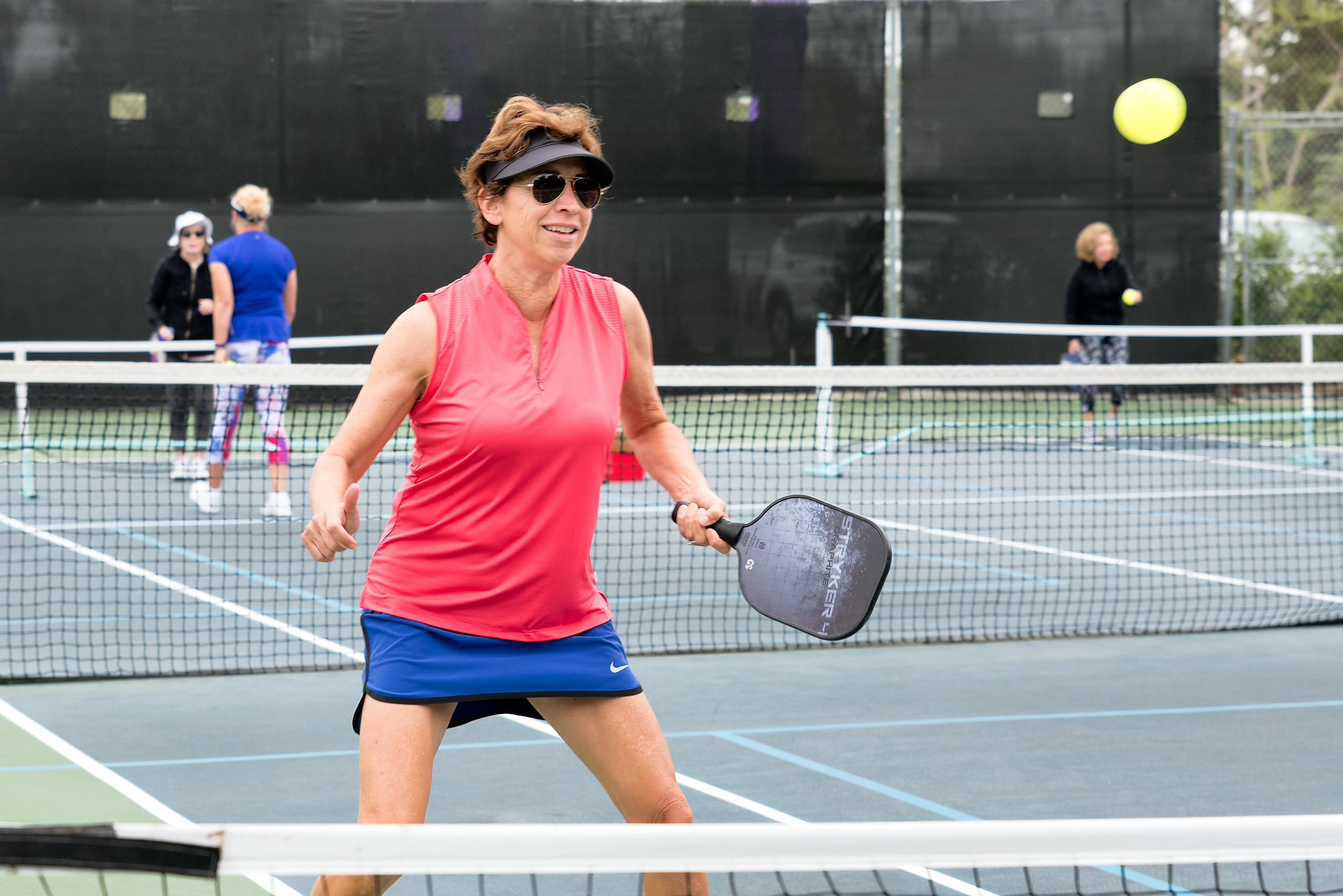 Pickleball player