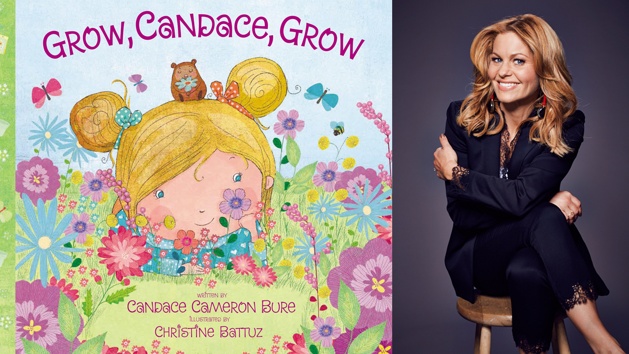 Candace Cameron and book