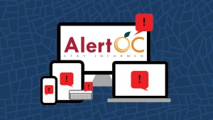 AlertOC emergency notification system
