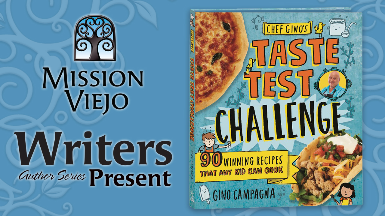 Chef Gino's Taste Test Challenge book cover