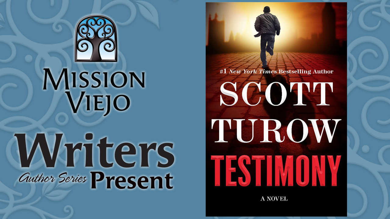 Scott Turow Testimony book cover